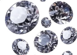 Big Synthetic Diamond for Gem Jewelry